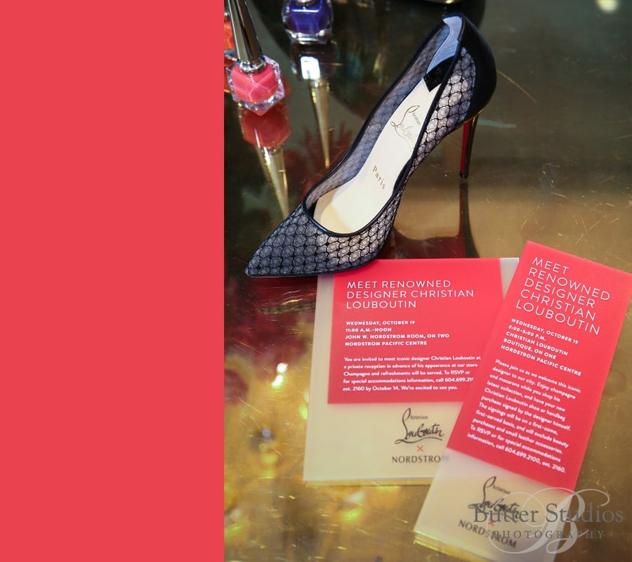 6fef3a36e952 Guests got to meet with the fashion icon and receive a personalized message  and autograph on their new Louboutin handbag or shoes. Good times capturing  all ...